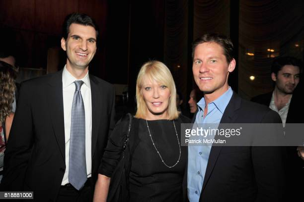 and David Zinczenko attend Book Release Party for VICKY WARD's New Book 'THE DEVIL'S CASINO' at Four Seasons Restaurant on April 7 2010 in New York...