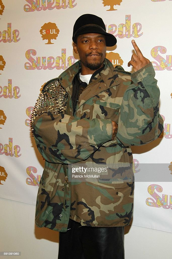 M1 and Dead Presidents attend Suede Magazine Hosts 'Suede The Party' to Celebrate the Impact of The Ultrasuedes at Skylight Studio on February 3 2005...