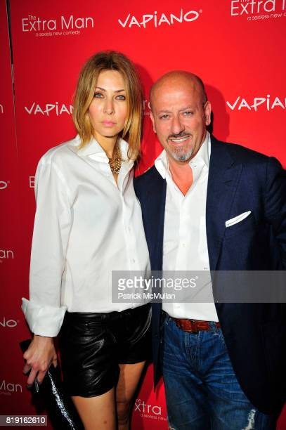 and Domenico Vacca attend Vapiano hosts the New York Premiere of THE EXTRA MAN red carpet arrivals and afterparty at Village East Cinema and Vapiano...