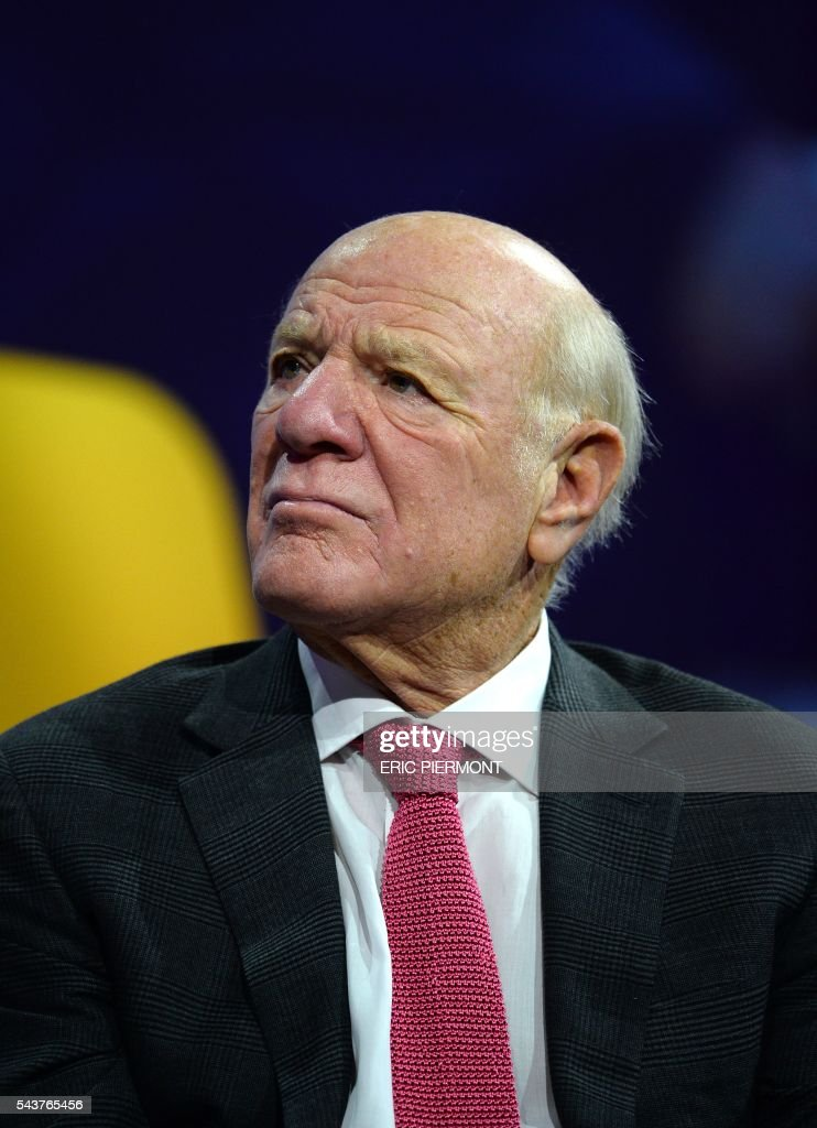 IAC and Expedia Chairman and Senior Executive Barry Diller attends a session at the Viva Technology event in Paris on June 30, 2016. / AFP / ERIC