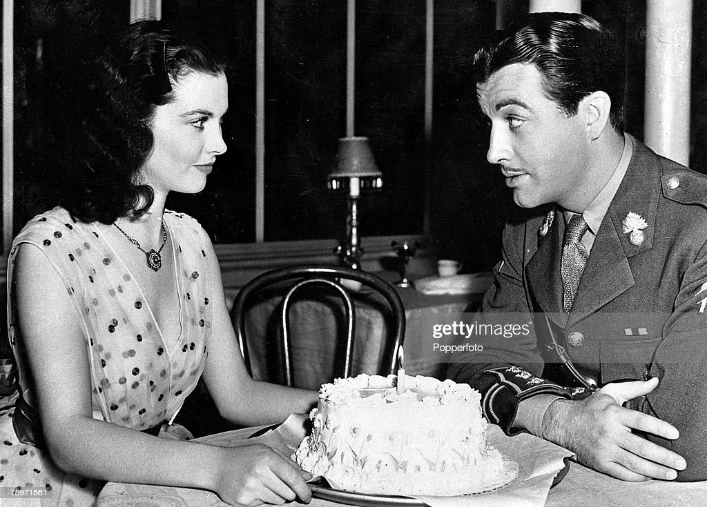 TV and Films 17th February 1940 Hollywood California USA Vivien Leigh the British film actress who played Scarlett O'Hara in the film 'Gone with the...