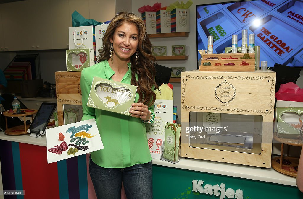 CEO and Founder of Dylan's Candy Bar Dylan Lauren attends Dylan's Candy Bar-New York City Flagship 3rd Avenue launch of 3D printed candy with Katjes Magic Candy Factory on June 6, 2016 in New York City.
