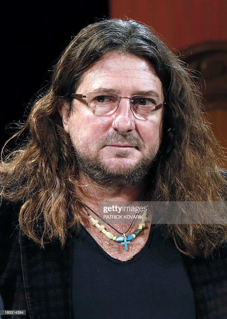 CEO and founder of French ecommerce company Vente-Privée.com Jacques-Antoine Granjon poses prior to give a press conference, on January 29, 2013 at the theatre de Paris in Paris. Granjon announced his group bought the theatre as part of its diversification strategy. AFP PHOTO / PATRICK KOVARIK