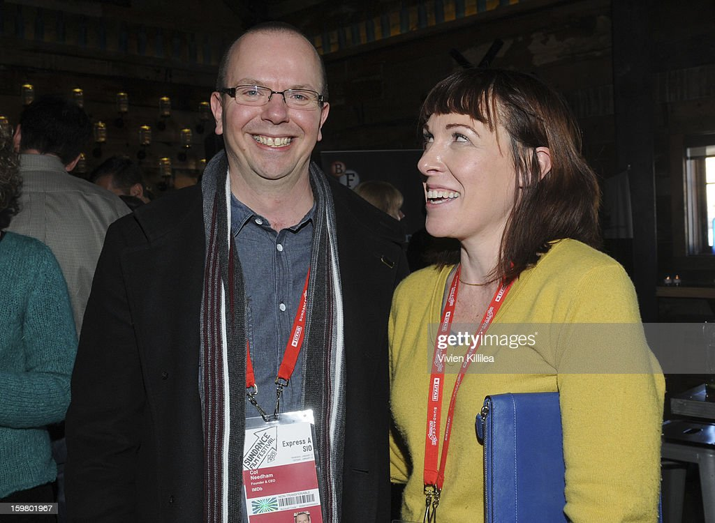 CEO and founder of IMDB Col Needham and Senior Executive of Industry Relations at the British Film Commission Tara Halloran attend the UK Film Brunch at Sundance - 2013 Park City on January 20, 2013 in Park City, Utah.