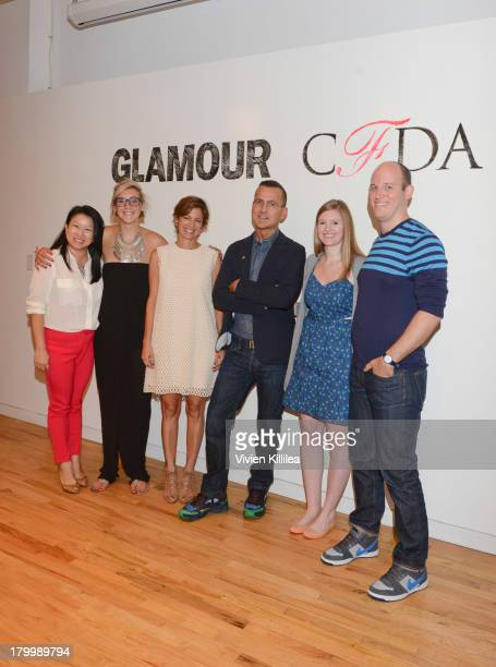 CEO and Founder of Zola ShanLyn Ma Jen Abel of General Assembly editor in Chief of Glamour Magazine Cindi Leive CFDA CEO Steven Kolb event director...
