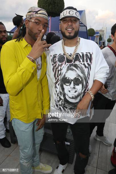 PARTYNEXTDOOR and French Montana attend the French Montana 'Unforgettable Party' In Toronto For Caribana 2017 on August 6 2017 in Toronto Canada