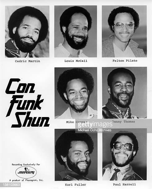 B and funk band Con Funk Shun pose for a publicity portrait circa 1980