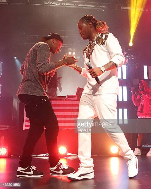 YG and Future perform in concert at Best Buy Theater on June 3 2014 in New York City