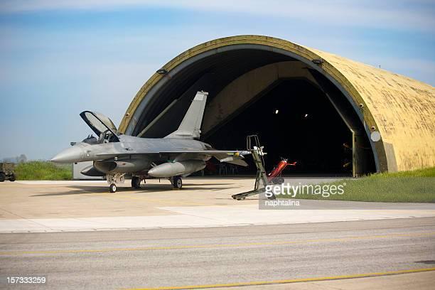F16 and Hangar