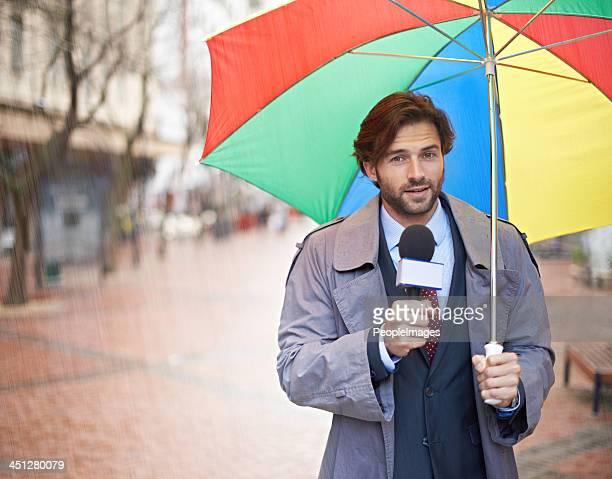 Pioggia e sembra che oggi ragazzi!