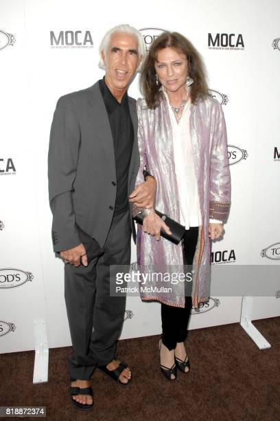 and Jacqueline Bisset attend DIEGO DELLA VALLE TOD'S CELEBRATE THEIR NEW BEVERLY HILLS HOME AND WELCOME JEFFREY DEITCH TO LA at TOD'S Beverly Hills...