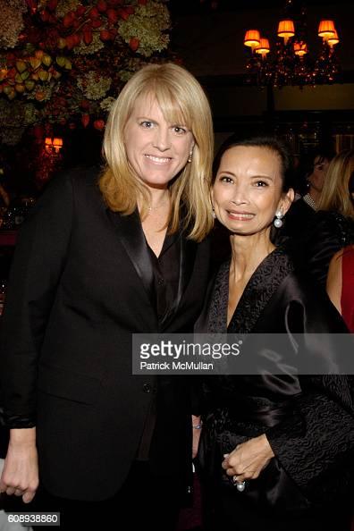 and Josie Natori attend 30th Anniversary of NATORI Honoring JOSIE NATORI at La Grenouille on November 1 2007 in New York