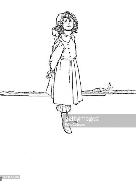 And Karen Was Dressed Very Neatly' c1930 An illustration from 'The Red Shoes' by Hans Christian Andersen From Hans Andersen's Fairy Tales by Hans...