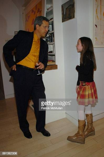 and Lilian Finckel attend The Chamber Music Society of Lincoln Center Young Patrons Event with Music Art and More at The Caio Fonseca Studio on...