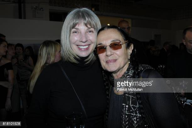 and Mary Ellen Mark attend Aperture Foundation 2010 in Benefit and Auction honoring Richard Misrach Steven Ames and Julie Saul at Chelsea Piers on...