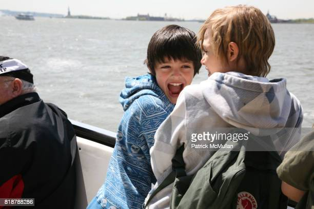 and Mingus Reedus attend MARIA SNYDER'S ECO BOYS and GIRLS at Liberty Science Center on April 24 2010 in Jersey City NJ