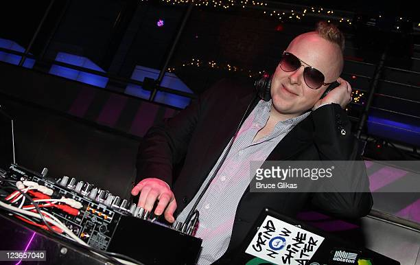 DJ and Music Producer Chris Young attends Victoria de Lesseps' 16th Birthday Party at Arena on December 11 2010 in New York City