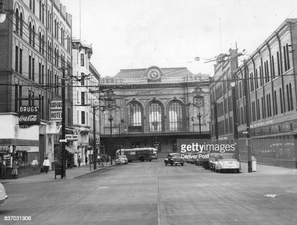 And Now This photo was taken from the same spot as the other one The arch has disappeared along with the tracks the wagons and the station tower Both...