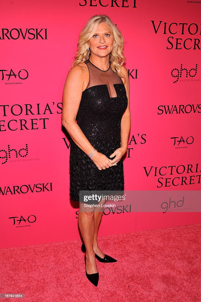 CEO and President of Victoria's Secret Sharen Jester Turney attends the 2013 Victoria's Secret Fashion Show at TAO Downtown on November 13 2013 in...
