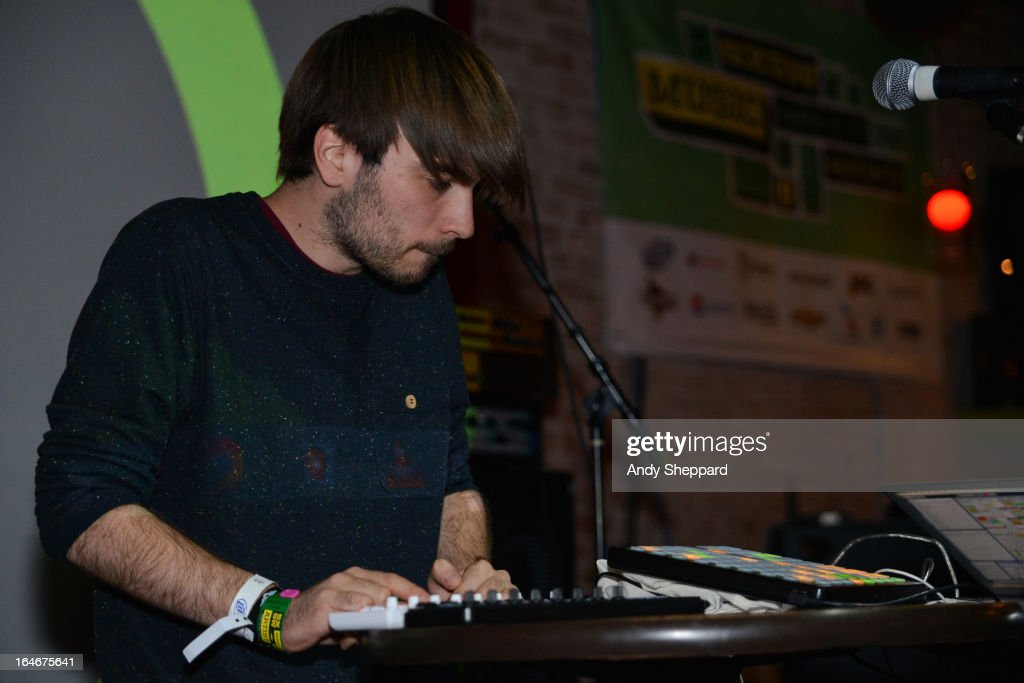 DJ and producer James Welch aka Seams performs on stage at The British Music Embassy, Latitude 30 on Day 3 of SXSW 2013 Music Festival on March 14, 2013 in Austin, Texas.