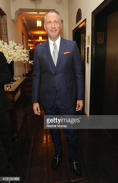 VP and Publisher of Vanity Fair Edward Menicheschi attends The Annie Leibovitz SUMOSize Book Launch presented by Vanity Fair Leon Max and Benedikt...
