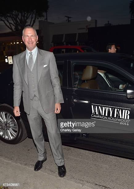 VP and Publisher of Vanity Fair Edward Menicheschi attends Vanity Fair and Chrysler Toast American Hustle during Vanity Fair Campaign Hollywood at...