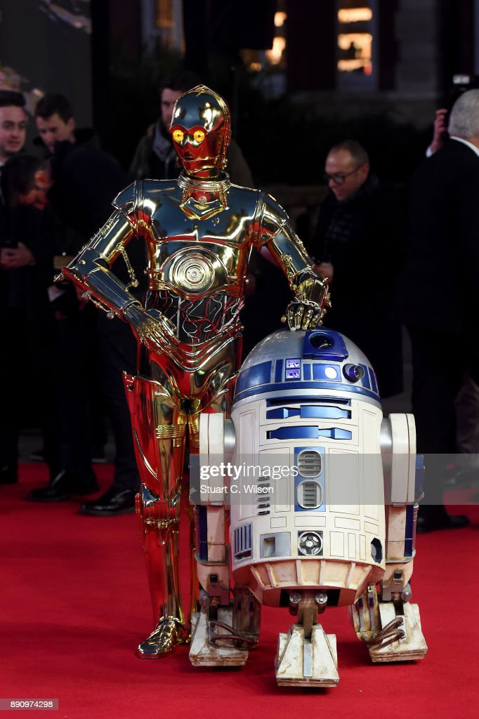 'Star Wars: The Last Jedi' European Premiere - Red Carpet Arrivals