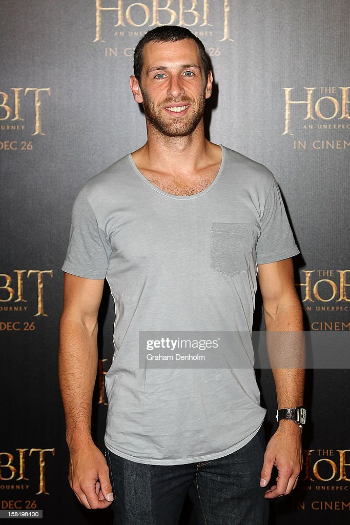 TV and radio personality Shura Taft attends the Melbourne premiere of 'The Hobbit: An Unexpected Journey' at Village Cinemas on December 18, 2012 in Melbourne, Australia.