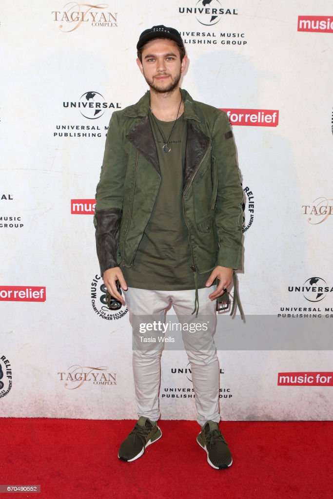 DJ and record producer Zedd attends Linkin Park's Music for Relief - Charity Poker Tournament at Taglyan Cultural Complex on April 19, 2017 in Hollywood, California.