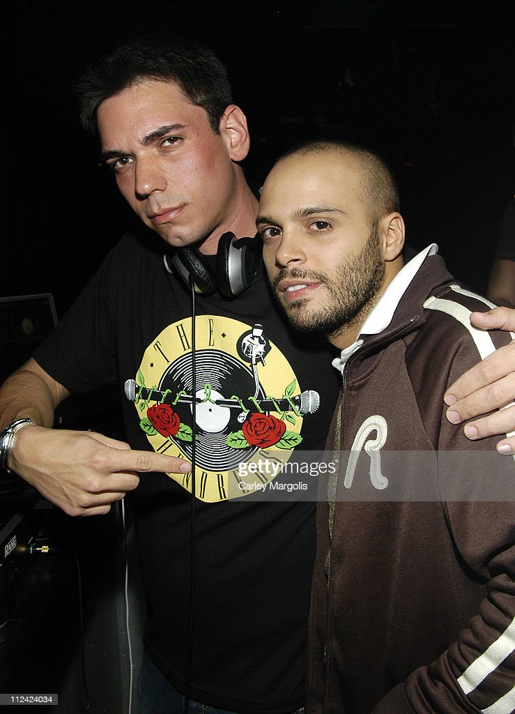 DJ AM and Richie Akiva during Grand Opening of Stereo Nightclub Featuring DJ AM at Stereo Nightclub in New York City New York United States
