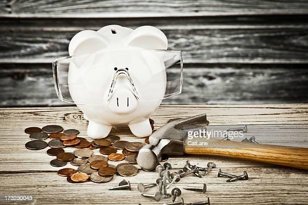 Heimwerken und Geld sparen