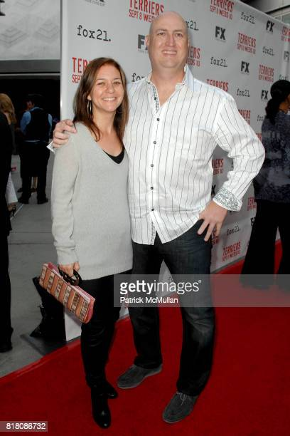 and Shawn Ryan attend Screening Of FX's 'Terriers' at ArcLight Cinemas on September 7th 2010 in Hollywood California