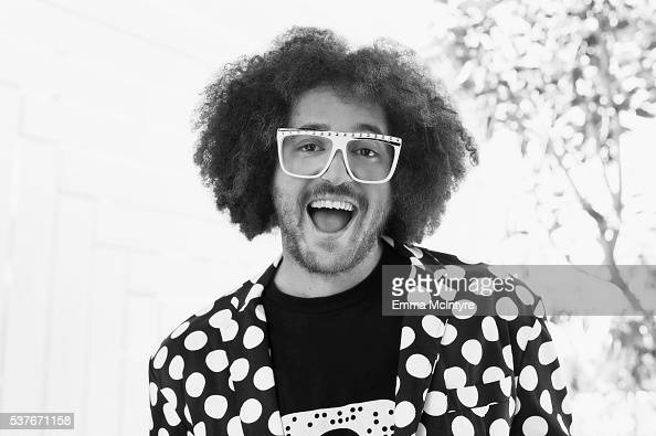 DJ and singer of band LMFAO Redfoo is photographed for The Wrap on April 13 2016 in Los Angeles California