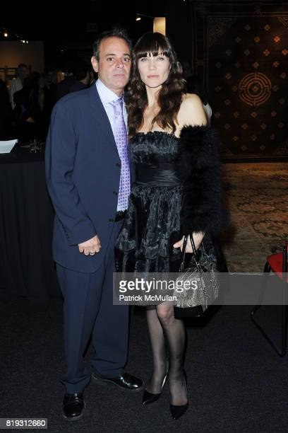 and Stacy Haiduk attend Opening Night Preview Party Of the LA Antique Show Benefiting PS ARTS at Barker Hangar on April 21 2010 in Santa Monica...