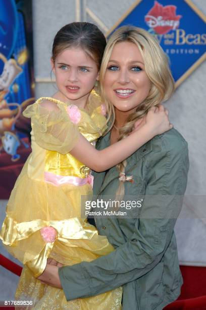 and Stephanie Pratt attend WALT DISNEY STUDIOS HOME ENTERTAINMENT HOSTS A SINGALONG PREMIERE OF BEAUTY AND THE BEAST at El Capitan Theatre on October...