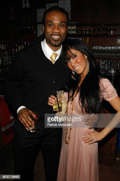 and Stephanie Tan attend Joonbug hosts the launch of GoTrumpcom sponsored by Blue Star Jets at Marquee NYC USA on January 24 2006