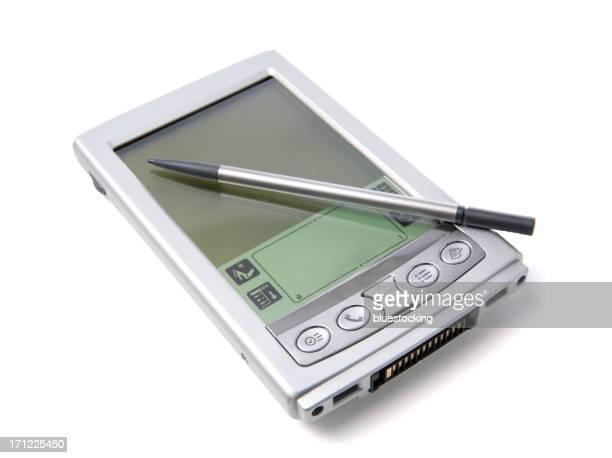 PDA e caneta