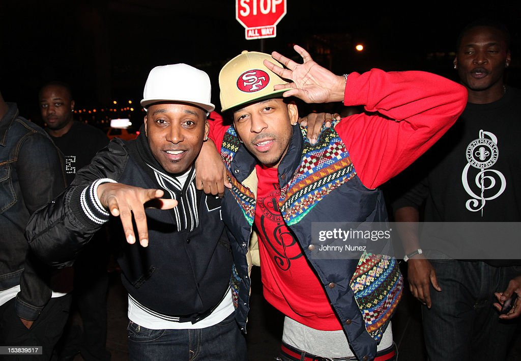 OB and Sugar J attend Machine Gun Kelly's Album Release Party at RDV on October 8, 2012 in New York City.