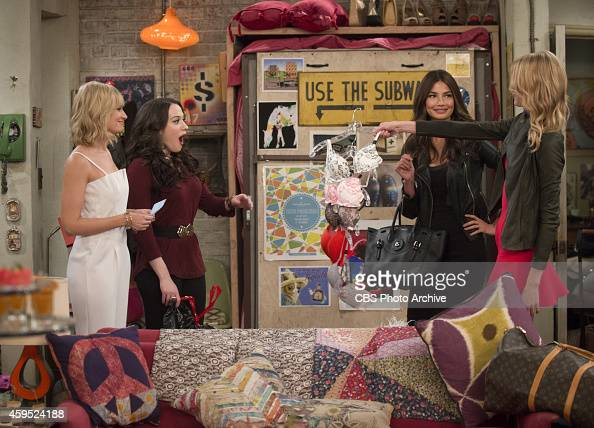 2 broke girls pictures getty images for The model apartment