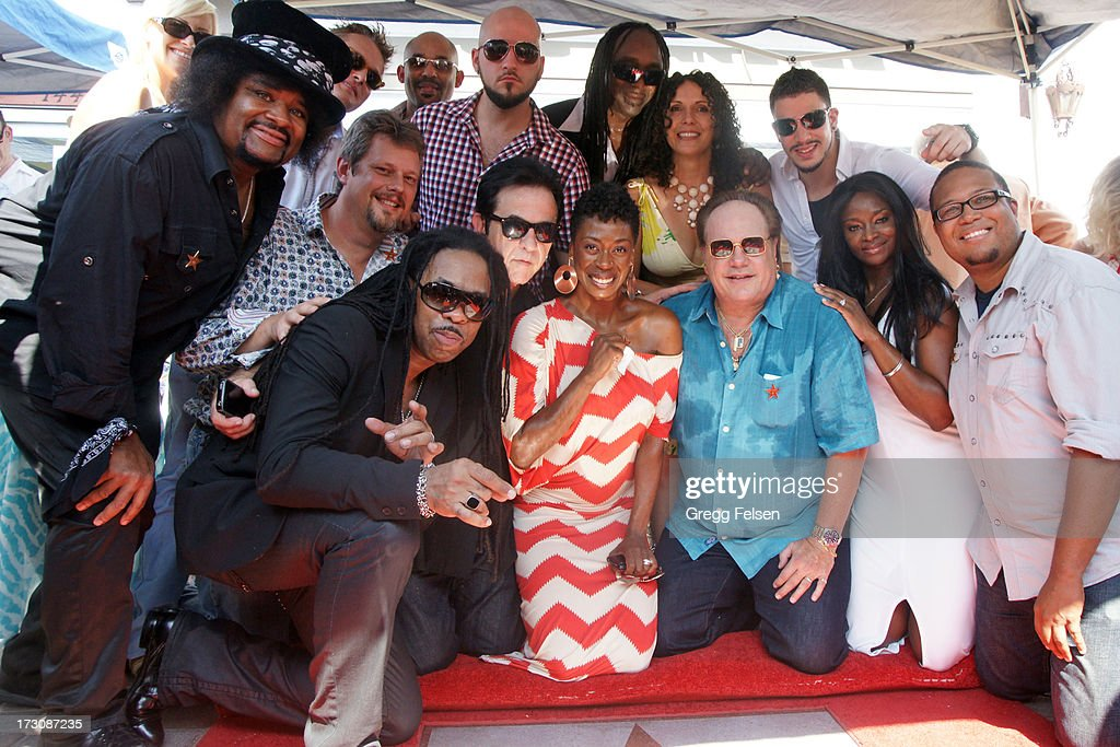 KC and the Sunshine Band attend Palm Springs 'Walk of Stars' ceremony for KC And The Sunshine Band on July 6, 2013 in Palm Springs, California.