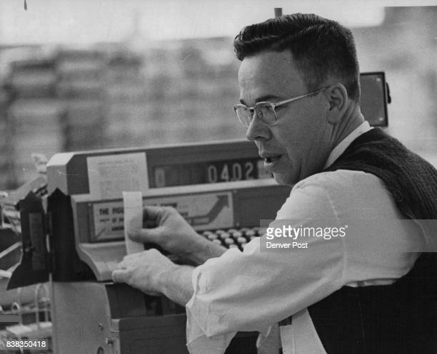 JAN 2 1962 And Then Notes The Difference In The Total Bill On The Register Overman charged $112 in sales taxes then refunded 45 cents for a 428 total...