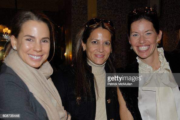 and Ulrica Lanaro attend MARIA HATZISTEFANIS presents GLAMOTOX at a glamorous upper east side luncheon at The Carlyle on December 3 2007 in New York...