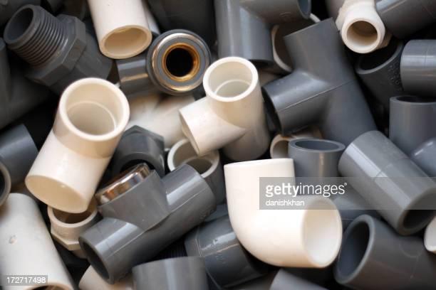 C-U-PVC de PVC y accesorios