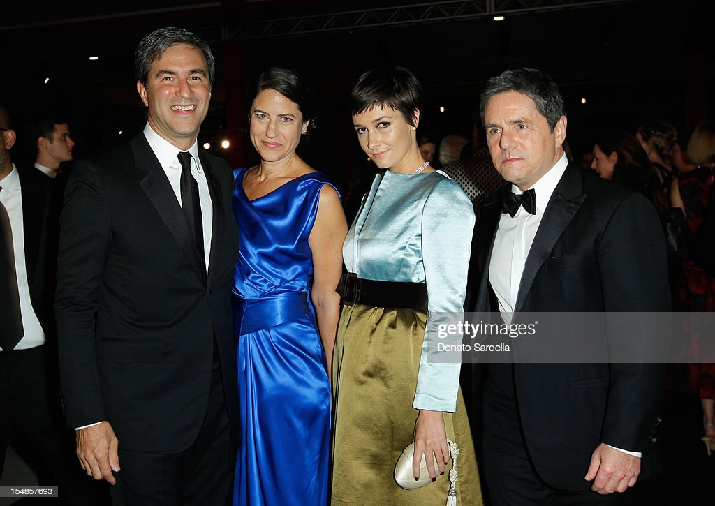 CEO and Wallis Annenberg Director Michael Govan, Katherine Ross, Cassandra Huysentruy-Grey and CEO of Paramount Pictures Brad Grey attend LACMA 2012 Art + Film Gala Honoring Ed Ruscha and Stanley Kubrick presented by Gucci at LACMA on October 27, 2012 in Los Angeles, California.