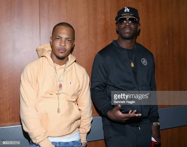 I and Young Dro at night two of the STAPLES Center Concert presented by CocaCola during the 2017 BET Experience at LA Live on June 23 2017 in Los...