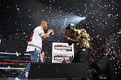 I and Young Dro perform onstage at Hot 1079 Birthday Bash at Philips Arena on June 18 2016 in Atlanta Georgia