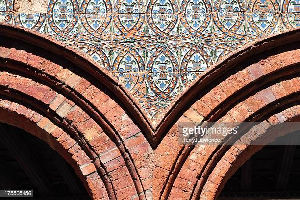 Andalucian Tiled Arch, Spain