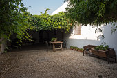 Andalusian farmhouse courtyard
