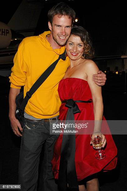 Andar Sawyers and Audrey Bernstein attend CHANEL Cruise Show LA Post Show at Santa Monica Airport on May 18 2007 in Santa Monica CA