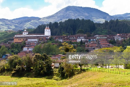 Andean town